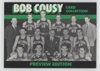 Bob Cousy (Not Serial #'d)