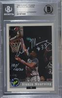 Alonzo Mourning /2500 [BAS Certified Encased by BGS]