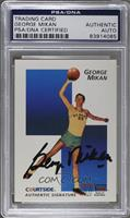 George Mikan [PSA/DNA Certified Encased]