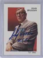 John Wooden [JSA Certified COA Sticker]