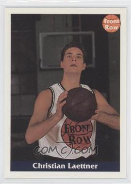 1992 Front Row - [Base] - Promo #N/A.3 - Christian Laettner (Posing With Ball)