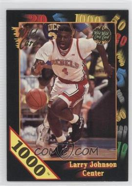 1992 Wild Card Collegiate - [Base] - 1000 Stripe #24 - Larry Johnson