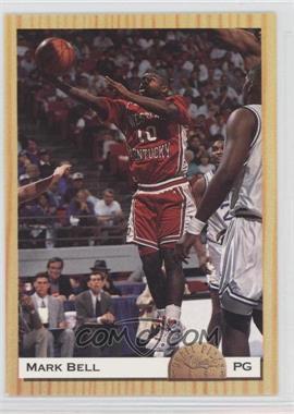 1993-94 Classic Draft Picks - [Base] #12 - Mark Bell