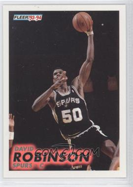1993-94 Fleer - [Base] #196 - David Robinson