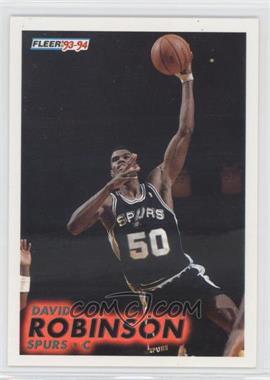 1993-94 Fleer - [Base] #196 - David Robinson