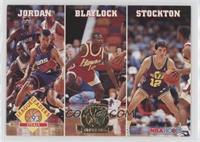Michael Jordan, Mookie Blaylock, John Stockton
