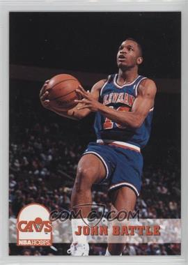 1993-94 NBA Hoops - [Base] #35 - John Battle