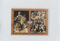 Magic Johnson, Larry Bird (Autographed)