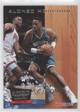1993-94 NBA Hoops - Supreme Court #SC7 - Alonzo Mourning
