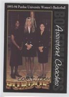 Sarah Sharp, Dallas Boychuk, MaChelle Joseph (Assistant Coaching Staff)