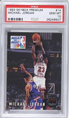 1993-94 Skybox Premium - [Base] #14 - Michael Jordan [PSA10]