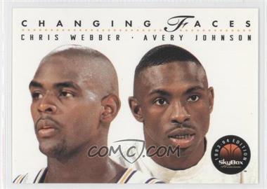 1993-94 Skybox Premium - [Base] #300 - Chris Webber, Avery Johnson