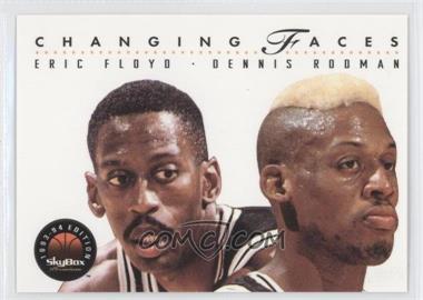 1993-94 Skybox Premium - [Base] #315 - Eric Floyd, Dennis Rodman