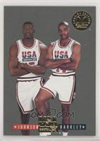 Charles Barkley, Larry Johnson