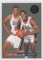 Magic Johnson, Steve Smith