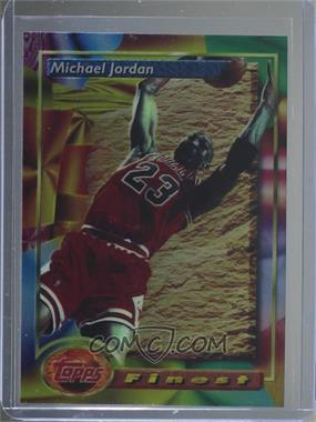 1993-94 Topps Finest - [Base] #1 - Michael Jordan