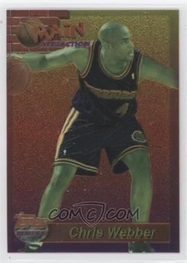 1993-94 Topps Finest - Main Attraction #9 - Chris Webber