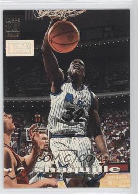 1993-94 Topps Stadium Club - [Base] - 1st Day Issue #100 - Shaquille O'Neal