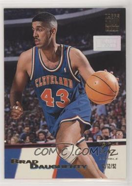 1993-94 Topps Stadium Club - [Base] - 1st Day Issue #7 - Triple Double - Brad Daugherty