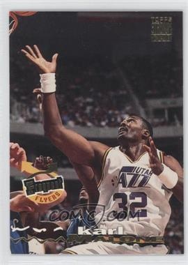 1993-94 Topps Stadium Club - [Base] #186 - Karl Malone