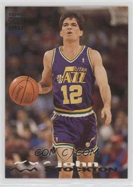 1993-94 Topps Stadium Club - [Base] #313 - John Stockton
