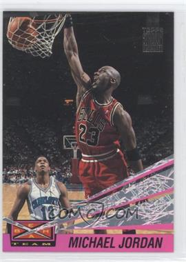 1993-94 Topps Stadium Club - Beam Team #4 - Michael Jordan