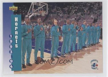 1993-94 Upper Deck - [Base] #212 - Charlotte Hornets Team