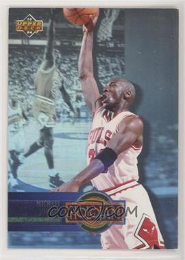 1993-94 Upper Deck - Box Set Holojam #H4.2 - Michael Jordan (Promo Card; Upper Deck Logo on Left; Space Between H and 4)