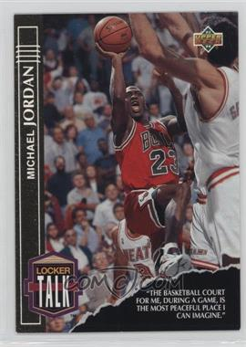 1993-94 Upper Deck - Locker Talk #LT1 - Michael Jordan