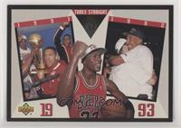 Chicago Bulls Team, Michael Jordan
