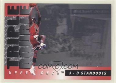 1993-94 Upper Deck - Triple Double #TD2 - Michael Jordan