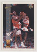 Michael Jordan (Right Shoe not totally visible on back) [EX to NM]