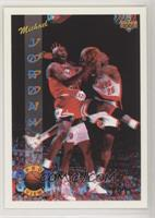 Michael Jordan (Promo; Right Shoe totally visible in back image)