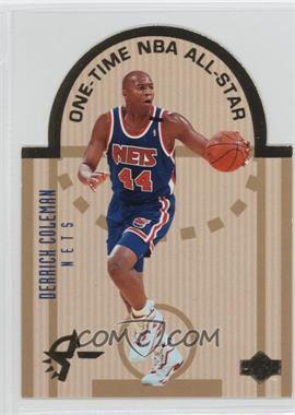 1993-94 Upper Deck Special Edition - Die-Cut All-Stars #E10 - Derrick Coleman