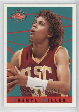 1993 Kellogg's College Greats Postercards - [Base] #CHMI - Cheryl Miller