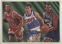 Scottie Pippen, Mark Price, Jamal Mashburn
