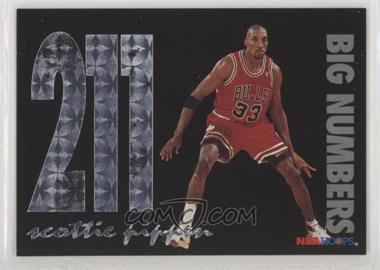1994-95 NBA Hoops - Big Numbers #BN9 - Scottie Pippen