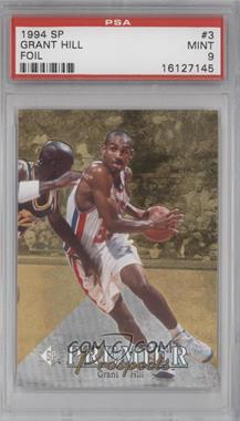 1994-95 SP - [Base] #3 - Grant Hill [PSA 9]