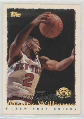 1994-95 Topps - [Base] - Spectralight #227 - Monty Williams