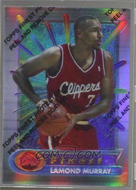 1994-95 Topps Finest - [Base] - Refractor #289 - Lamond Murray