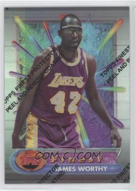 1994-95 Topps Finest - [Base] - Refractor #42 - James Worthy