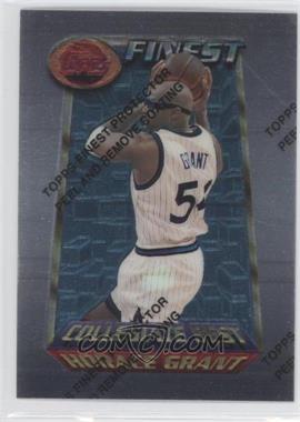 1994-95 Topps Finest - [Base] #203 - Collegiate Best - Horace Grant