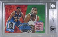Georgetown College Teammates (Patrick Ewing, Reggie Williams) [BGS Authent…
