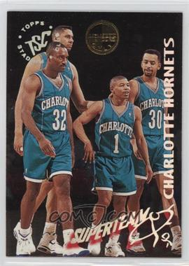 1994-95 Topps Stadium Club - Super Teams - Members Only #3 - Charlotte Hornets Team
