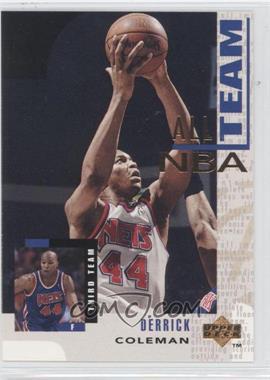 1994-95 Upper Deck - [Base] #21 - Derrick Coleman