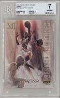 Michael Jordan [BGS 7 NEAR MINT]