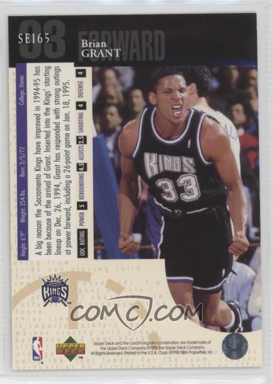 1994-95 Upper Deck - Special Edition #SE165 - Brian Grant