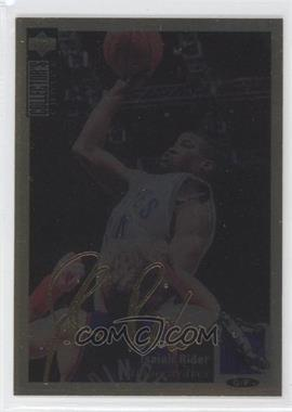 1994-95 Upper Deck Collector's Choice - [Base] - Gold Signature #134 - Isaiah Rider
