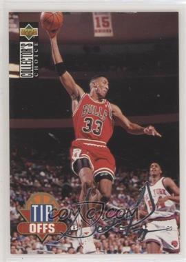 1994-95 Upper Deck Collector's Choice - [Base] - Silver Signature #169 - Scottie Pippen [EXtoNM]