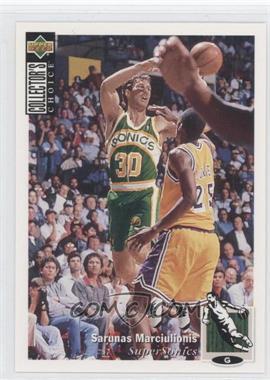 1994-95 Upper Deck Collector's Choice - [Base] #357 - Sarunas Marciulionis